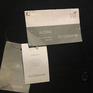 Black trousers, work attire chic piece